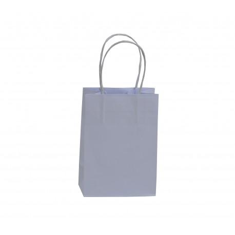 Mini Shoppers carta bianca , maniglia ritorta