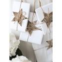 Fogli carta regalo naturale bianca 50 fg.