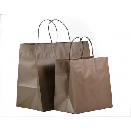 Shoppers fondo quadro, maniglia ritorta