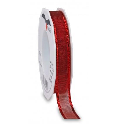 Nastro tessuto Luxury rosso