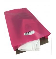 Shoppers Plastica Riutilizzabile Fuxia 100 pz.