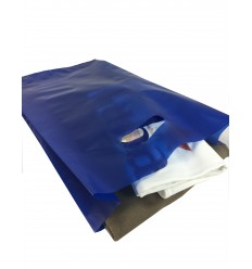 Shoppers Plastica Riutilizzabile Blu 100 pz.