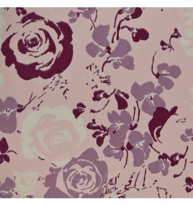 Fogli carta regalo fiori rosa