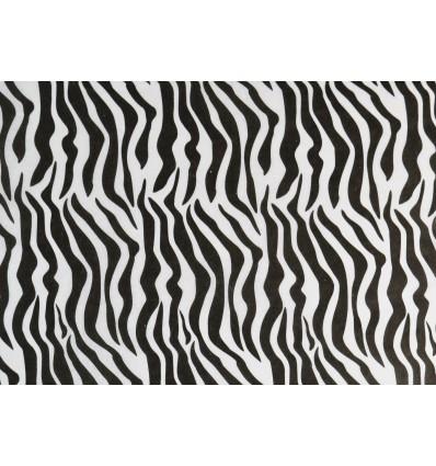 Carta velina fantasia zebrata