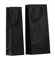 Shoppers porta bottiglie nero