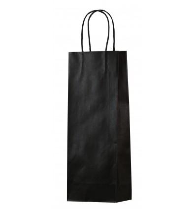 Shoppers porta bottiglia nera