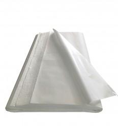 110 Fogli carta Kraft Bianco 60 gr. cm. 100x150