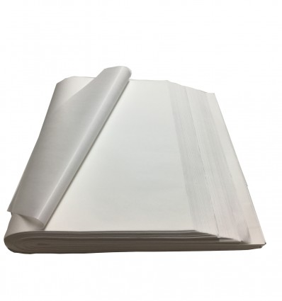 1200 Fogli carta Velina Bianca gr.22 cm. 75x50