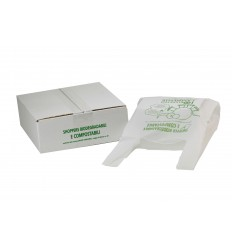 Shopper biodegradabile compostabile 500 pz.