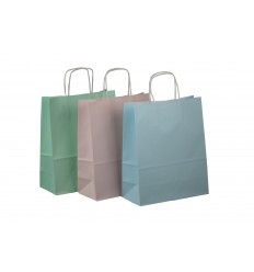 Shopper Carta Colori Assortiti P/E 75 pz.
