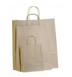 Shopper pois bianco