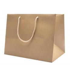 Shopper Carta Avana Fondo Largo