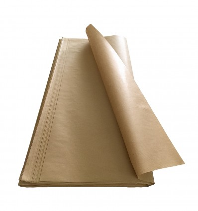400 Fogli carta Velina Avana gr.30 cm. 75x100