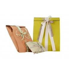 Sacchetto regalo carta mix 3 colori