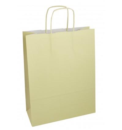 Shopper avorio maniglia ritorta