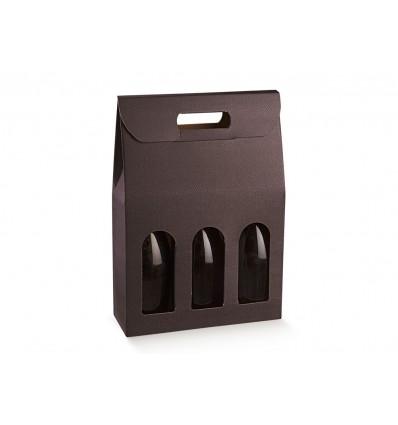 Porta 3 bottiglie Skin Coffe