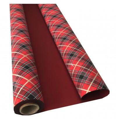 Bobina polipropilene scozzese rosso