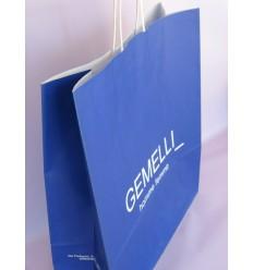 Shoppers personalizzate maniglie ritorte